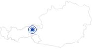 Therme/Bad Freischwimmbad Westendorf in den Kitzbühler Alpen - Brixental: Position auf der Karte