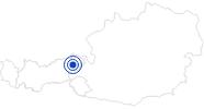 Therme/Bad Freizeitanlage Brixen im Thale in den Kitzbühler Alpen - Brixental: Position auf der Karte