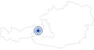 Spa Captain Hook - Pool Area Saalbach in Saalbach-Hinterglemm: Position on map
