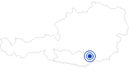 Spa outdoor pool Stadionbad Wolfsberg Regional experience Hochosterwitz - Kärntenmitte: Position on map