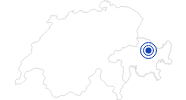Spa Eau-La-La in Davos Klosters: Position on map