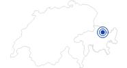 Therme/Bad Strandbad Klosters in Davos Klosters: Position auf der Karte