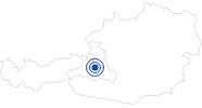Therme/Bad Freibad Mühlbach am Hochkönig: Position auf der Karte