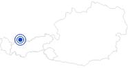 Therme/Bad Alpentherme Ehrenberg in der Naturparkregion Reutte: Position auf der Karte