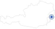 Therme/Bad Sonnentherme Lutzmannsburg im Sonnenland Mittelburgenland: Position auf der Karte