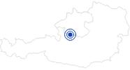 Webcam Traun Riverside in Bad Ischl in the Salzkammergut: Position on map