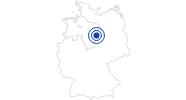 Therme/Bad BadeLand Wolfsburg im Braunschweiger Land: Position auf der Karte
