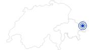 Therme/Bad Bogn Engiadina Scuol in Scuol Samnaun Val Müstair: Position auf der Karte