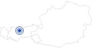 Therme/Bad Alpenbad Leutasch in der Olympiaregion Seefeld: Position auf der Karte