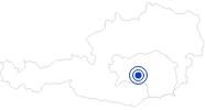 Therme/Bad Aqualux Therme in Fohnsdorf in der Urlaubsregion Murtal: Position auf der Karte