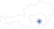 Therme/Bad Nova Therme Köflach in der Oststeiermark: Position auf der Karte