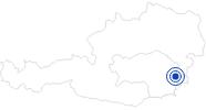 Therme/Bad Heiltherme Bad Waltersdorf im Thermenland Steiermark: Position auf der Karte