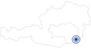 Therme/Bad Therme der Ruhe in Bad Gleichenberg im Thermenland Steiermark: Position auf der Karte