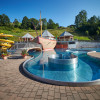 There is a lot to discover for kids and teens in the outdoor adventure pool.