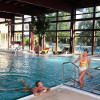 Forget everyday life in the indoor pool