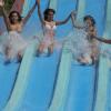 Slides at Aqua park Le Caravelle