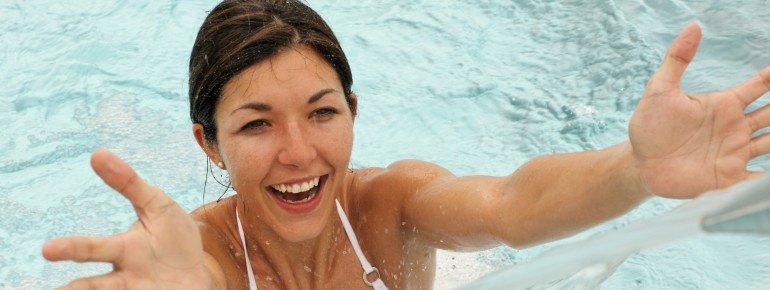 Wellness & indoor swimming pool in Pontresina in Engadin