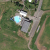 The swimming pool is located at the sports centre of Dalvík.