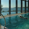 Freshwater pool with a view of Lake Ruppin