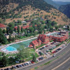 Glenwood Hot Springs is easily reached via the Interstate
