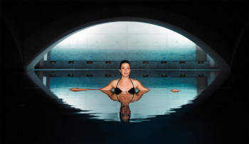 Liquidrom is a spa with a high relaxation factor