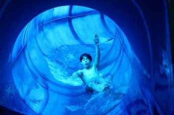 Black-Hole is one of two water slides that guarantee fun and action.