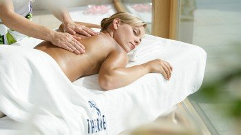 Soothing massage at Therme Erding.
