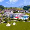 The Swiss Holiday Park impresses with its location in the middle of nature