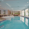 View of the indoor pool.