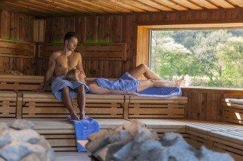 Dr. Eisenbart-Sauna at 105°C