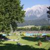 Alpenschwimmbad Wattens - Liegewiese