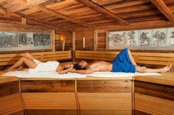 In der Landsknechtsauna können Besucher hervorragend entspannen.