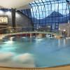 Die Thermenhalle des Aqua Dome.