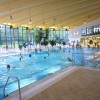 Im Innenbereich der Aquadrom Wasserwelt in Graal-Müritz befindet sich ein 25-Meter-Becken, ein Kinderbecken und ein Sprudelkanal.