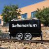 Das Solionarium ist eine Meeresklinakabine mit Infrarot.