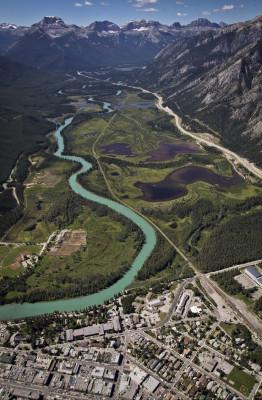 Die Anlage liegt nur 4 km außerhalb von Banff