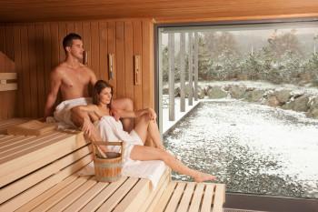 Entspannung pur in der Sauna