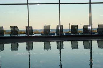 Vom Entdeckerbad Damp hast du einen tollen Ausblick auf die Ostsee.