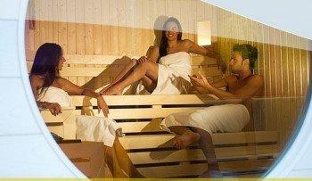 Saunabereich im Fit 181