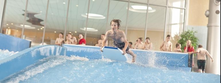 Highlight im Gezeitenland: die Surfanlage FlowRider®