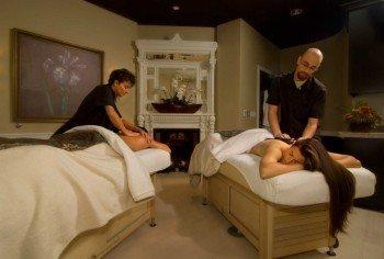 Das Spa of the Rockies bietet auch Massagen für Paare