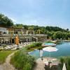"""Die hoteleigene Therme """"Quellenoase"""" ist allein für die Hotelgäste zugänglich."""