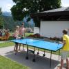 Doppelmatch am Tischtennisplatz