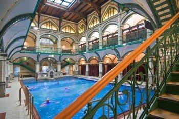 Das Bad wurde Ende des 19. Jahrhunderts gebaut.