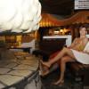 Die Saunawelt bietet verschiedene Ruhebereiche