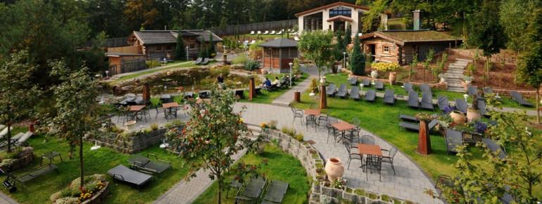 Das Monte Mare Kaiserslautern bietet einen wundervoll angelegten, toskanischen Saunagarten an