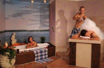 Besucher des Monte Mare haben eine große Auswahl an Wellness und Massageangeboten