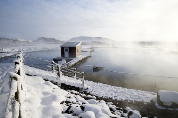 Das Myvatn Nature Baths im Winter
