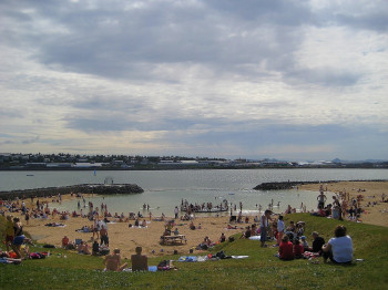 Die Lagune im Sommer