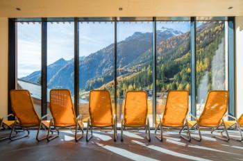 Entspannen mit Blick auf die Bergwelt des Kaunertals